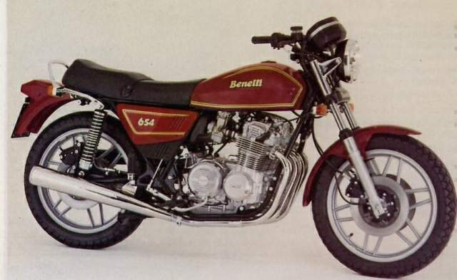 Review of Benelli 654 T 1985: pictures, live photos